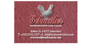 Backhendlstation Schneider